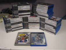 50 Originele Sony PS 2 spellen. Zoals: Crash,Kingdom hearts,Sims,CSI,Prince of Persia x2, Buzz, Ghost recon, Cars,need for speed and more