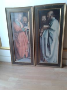 Two paintings of Saint Peter and Saint Paul.