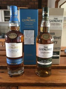 2 bottles - The Glenlivet Nadurra & Guardians chapter