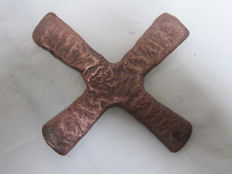 "African copper ""KATANGA"" Cross Currency - D.R. Congo"
