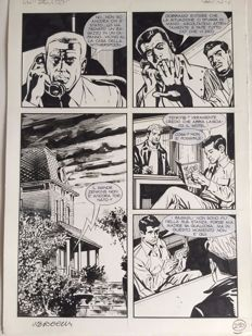 Vercelli, Gino - 6x Original pages - Nathan Never