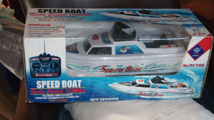 Speed boot Radio Control 27MHz Newqida No. 757 T-022