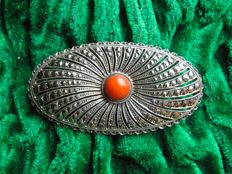 835 silver, Dutch silver brooch, antique