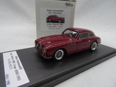 Khan Automodelli (hand built) - Scale 1/43 - Aston Martin DB2 Coupe RHD 1953 - Limited 150 pieces - Colour Red