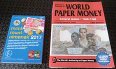 World Paper Money Catalog 1368 - 1960 Edition 15Th 12.000 Detailed Illustrations + Almanak Nederland 2017