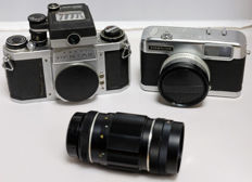 Pentax SV plus more for the handy repairman