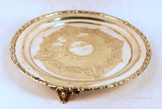 Antique Victorian Silver Plate Tray, England C.1870's