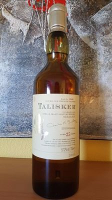 Talisker 25 years old  -  Limited Edition 2005