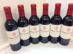 2005 Chateau Bourgneuf - Pomerol  x 6 half bottles, (375 ml)