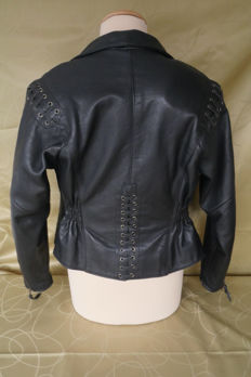 Harley Davidson - Leather motorcycle ladies jacket