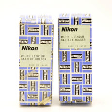 2x Nikon MS-11 Battery Holder (2182)