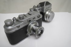"Lot of 2 cameras: ""Zorkiy-С""+""Zenith-C""."