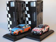 Minichamps - Scale 1/43 - Lot with 2 x BMW M235i Racing 24h Nurburgring 2015
