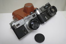 "Rare Camera ""Kiev-4АM"" (prototype Contax Carl Zeiss Jena). As a gift of ""FED-5"""
