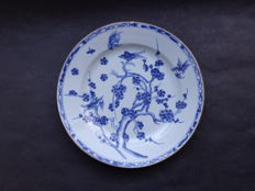 Bird plate - China - 18th century