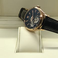 Armand Nicolet - Classic 43mm 18K Rose Gold watch - 7130A-NR-P713NR2 - Masculin - 2011-prezent