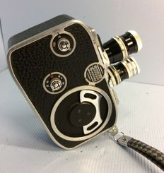 Paillard - Bolex B8 / Fabrication Suisse / Vintage double 8 film camera