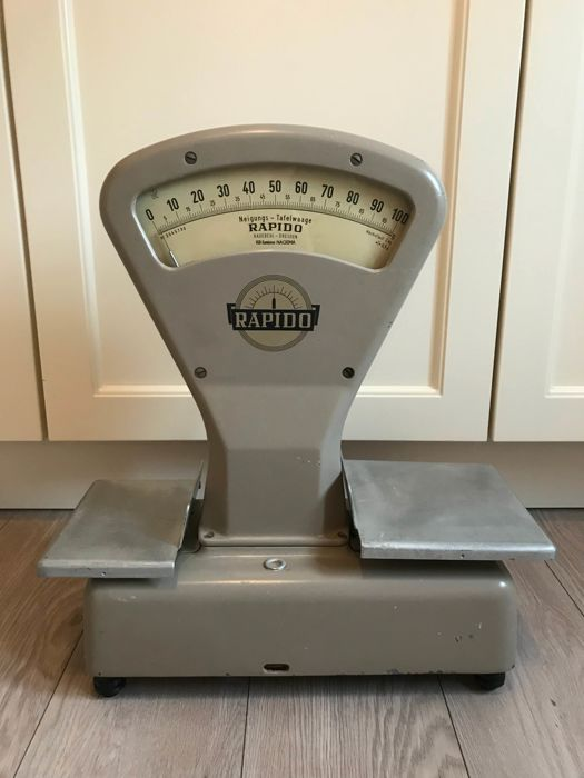 German Rapido scales in perfect condition
