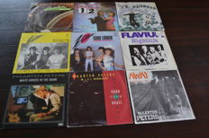 36 Hard to find Dutch Nederbeat popsingles in NM quality