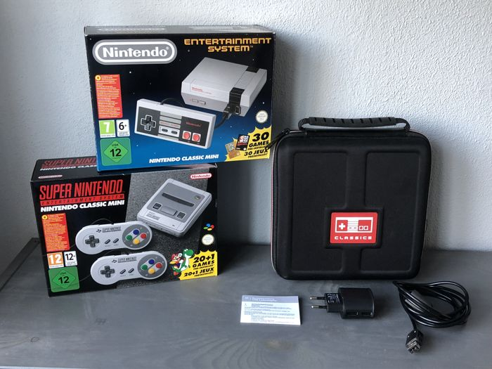 super nintendo classic mini snes nintendo classic mini nes extra 39 s catawiki. Black Bedroom Furniture Sets. Home Design Ideas