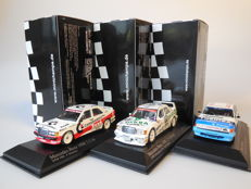 Minichamps - Scale 1/43 - Lot with 3 DTM models: 2 x Mercedes-Benz & 1 x Rover