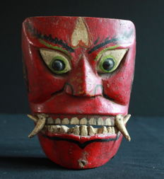 Ancient mask – East Java, Indonesia – beginning of the 20th century