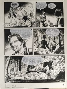 Raimondo, Luca - 4x Original pages - Dampyr - Maxi Dampyr no. 3