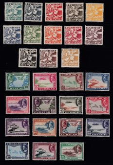 Curaçao 1915/1959  – Selection Airmail and Postage Due