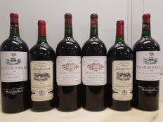 1998 - Chateau d'Arche - Haut Médoc - 2 Magnums & 2007 - Chateau de Musset - Lalande de Pomerol - 2 Magnums & 2015 - Chateau Landonnet - Bordeaux Supérieur - 2 Magnums : 6 Magnums in total