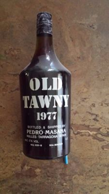 "1977 ""Tawny Port"" Pedro Masana, Taragona, Spain - 1 bottle 100 cl"