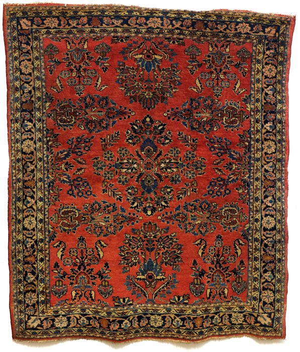Lilian Sarough, around 1950. Hand-knotted carpet.