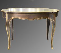 Rosewood Writing Desk with ormolu inlays - Napoleon III - France, ca. 1870