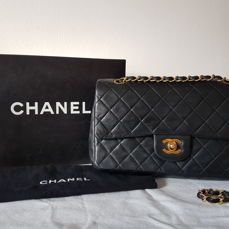 Chanel 2.55 Double Flap Bag - Medium Size with Double Flap