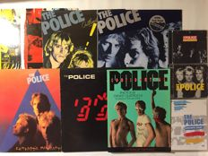 Lot of 5 The Police LP 's, 3 CD's, 1 DVD and 1 photobook