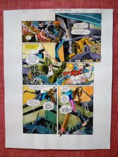 Glenn Whitmore - Original Colourisation (Color Guide Art) - Batman Hollywood Knight #3 - Page 18 - Dick Giordano - (2001)