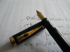 Beautiful Swan Mabbie Todd pen Eternal model in perfect condition. Mint condition - 14 kts gold nib.