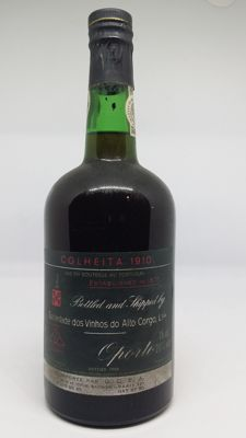 1910 Colheita Port Alto Corgo - bottled in 1980