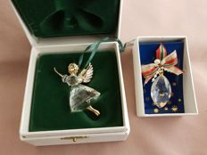 Swarovski - Christmas Memories Angel 1996 - Oval Christmas Decoration