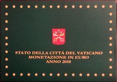 Vatican - Year pack euro coins 2010 Benedict XVI + silver medal