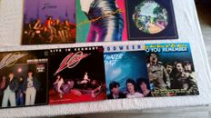 A very nice lot with 9 LP's (including 1 doublealbum) of Dutch rockband like Vitesse, Herman Brood, Zinatra and others.