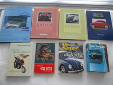 Set of 8 Automobile books - beautiful reference works