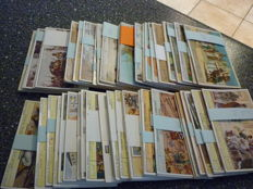 Lot of 50 different sets of 6 Liebig Chromo's