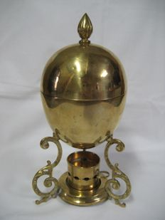 Antique egg cooker