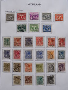 The Netherlands 1869/2001 - collection in DAVO preprint album