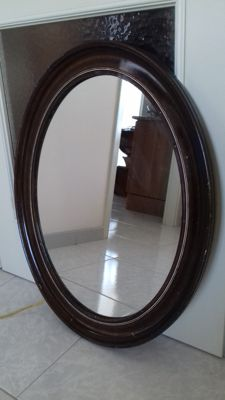 Oval mirror - Italy - early 20th century