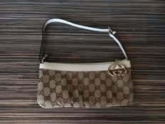 "Gucci - GG canvas accessories ""pochette"" (clutch) bag - *No Minimum Price*"
