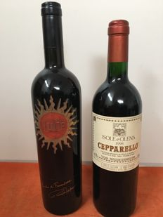 1997 Luce della Vite 'Luce' Toscana IGTx 1 bottle  & 1998 Isole e Olena Cepparello Toscana IGT x 1 bottle /  2 bottle 75cl in total
