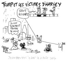 Original drawing made by famous Belgian cartoonist Kroll. This cartoon was published in Le Soir on 31/08/17. Ink on paper - signed - framed