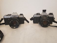 Lot.   1. Camera Yashica FX-D 1980 1. Camera Porst CR-3 1981
