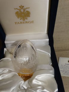 Fabergé egg authentic   -Crystal egg